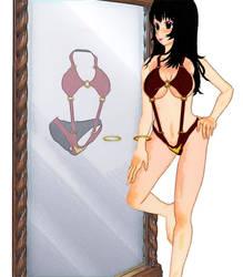 3DCG Vampirella Mirror by hadoc