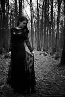 A strange presence near the woods by DameTenebra