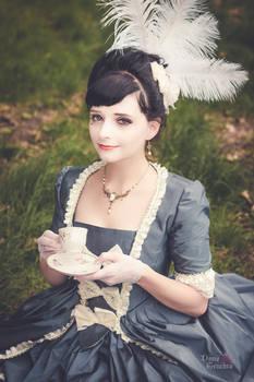 An afternoon tea at Versailles