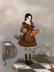 Clockwork Alice by Hel-gi