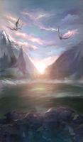 New sun by Hel-gi