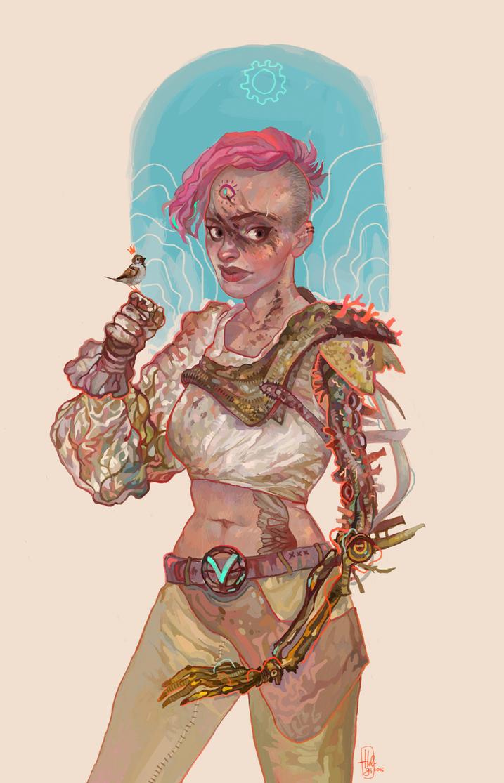 Sparrow by Hel-gi