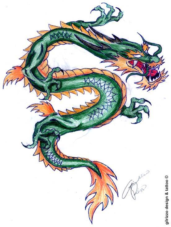dragon tattoo design by gilrizzo on deviantart. Black Bedroom Furniture Sets. Home Design Ideas