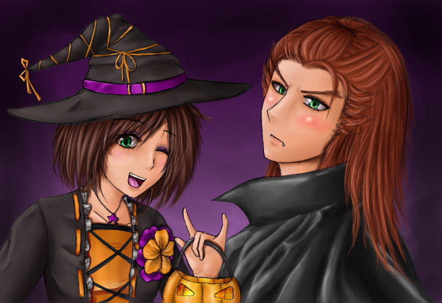 Happy Halloween! - Collab by WendaVinci