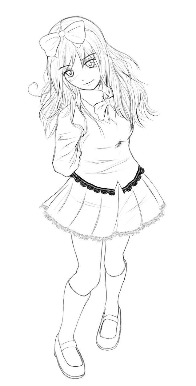 Digi Sketch 1st attempt by WendaVinci
