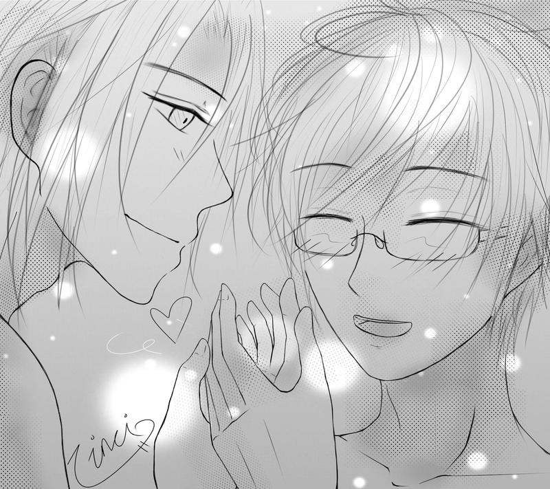 Two souls, sharing warmth. by WendaVinci