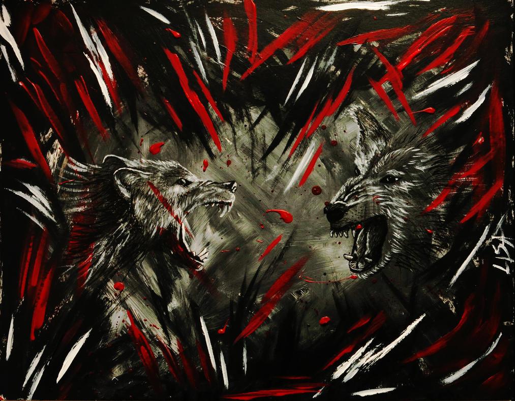 Wolf by s0ylentQueen