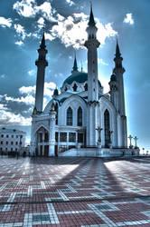 Mosque in Kazan Kremlin by throble