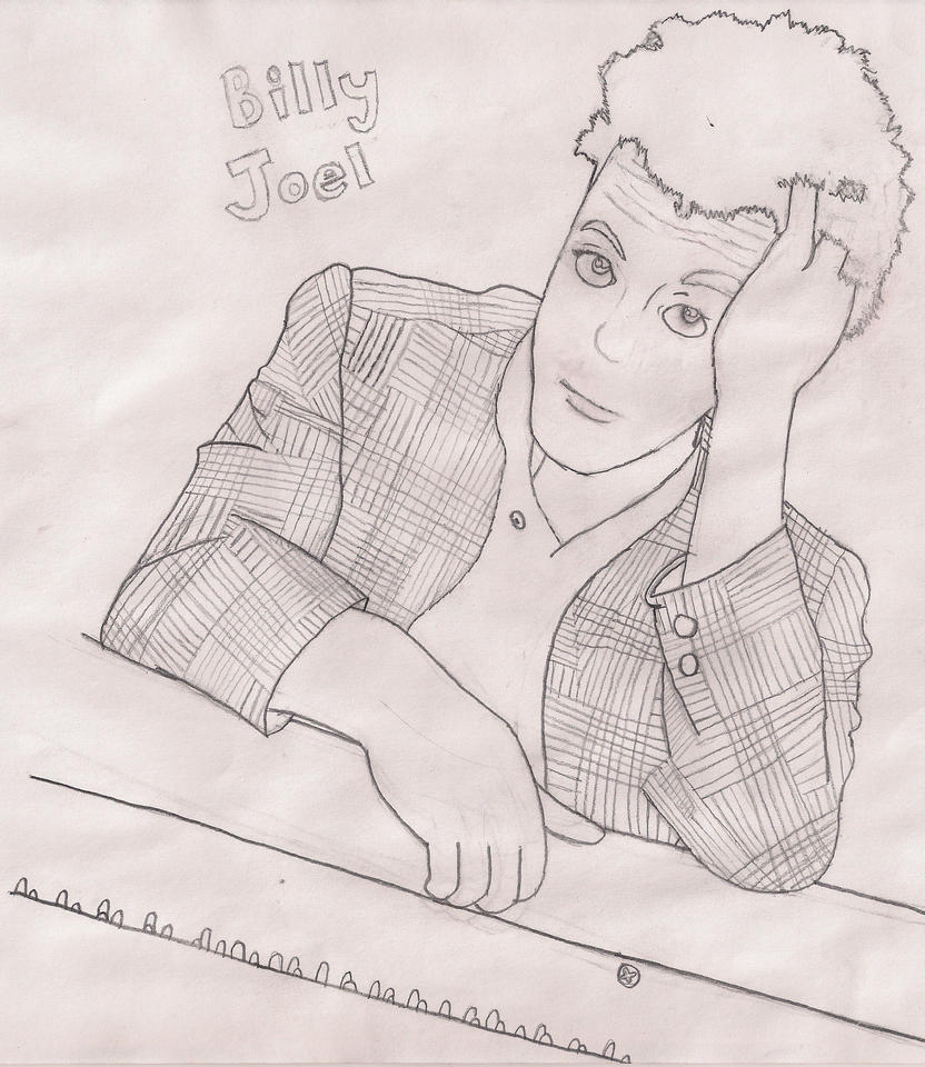 Billy Joel Greatest Hits Volumes 1 and 2 Drawing by Luigi-Is-Number-ONE