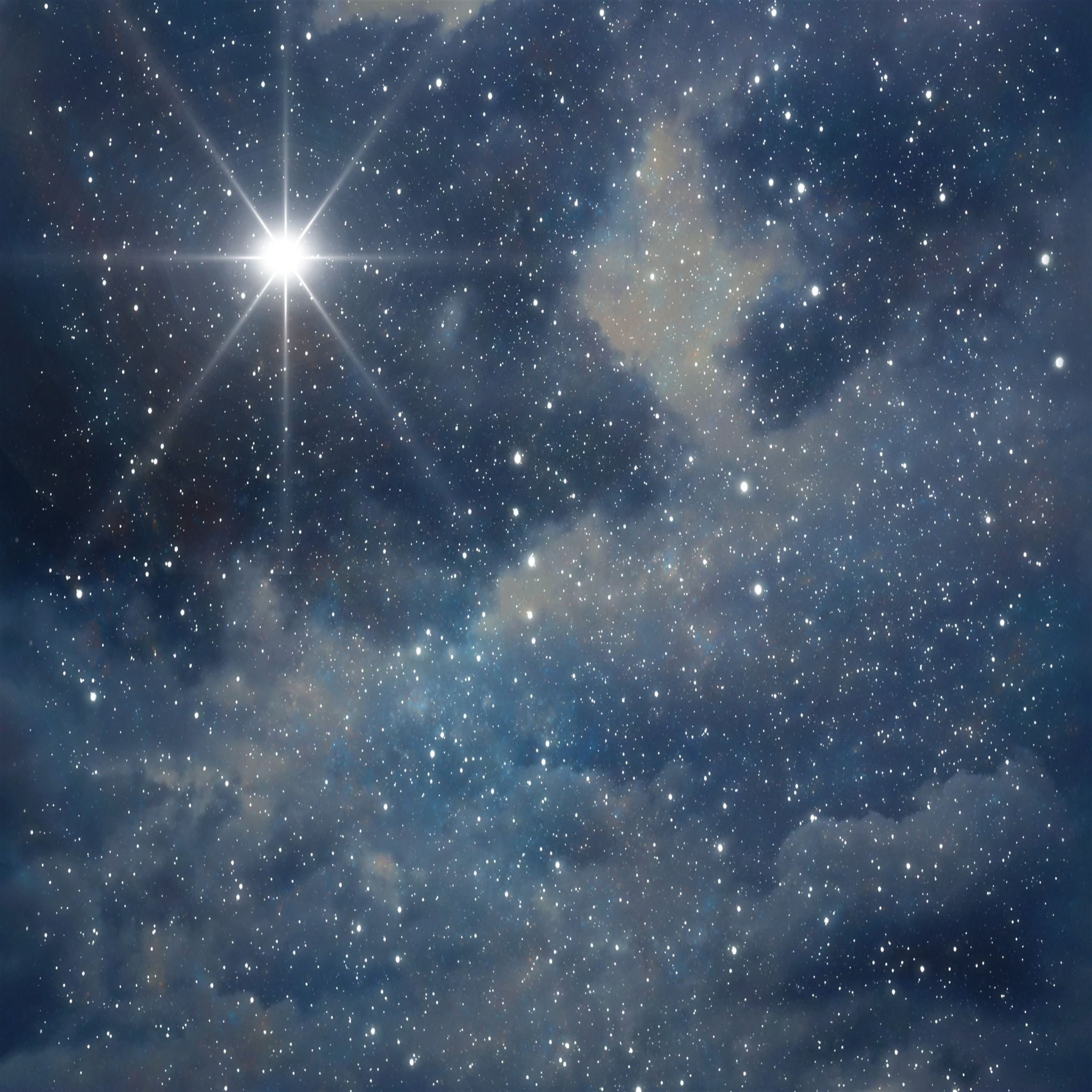 blue night sky background - photo #48