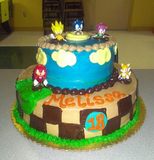 Sonic The Hedgehog Birthday Cake 2013 By Gothscarlet On Deviantart