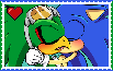 Sonic X Jet Stamp by GothScarlet