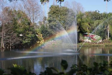 rainbow fountain by DLRinSRQ