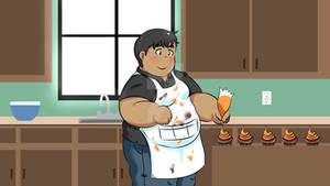 Fall Baking: Inktober 25th day