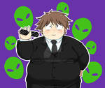 Agent Haru Arita: Inktober 26th Day