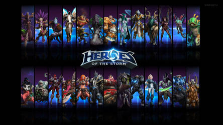 Heroes of The Storm - Heroes Wallpaper 1920x1080