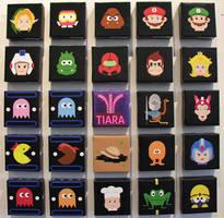 8 bit video game heads -better by OfficialPlasticgod