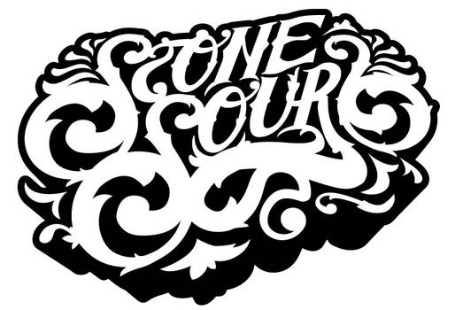 Stone Sour Ornate Lettering