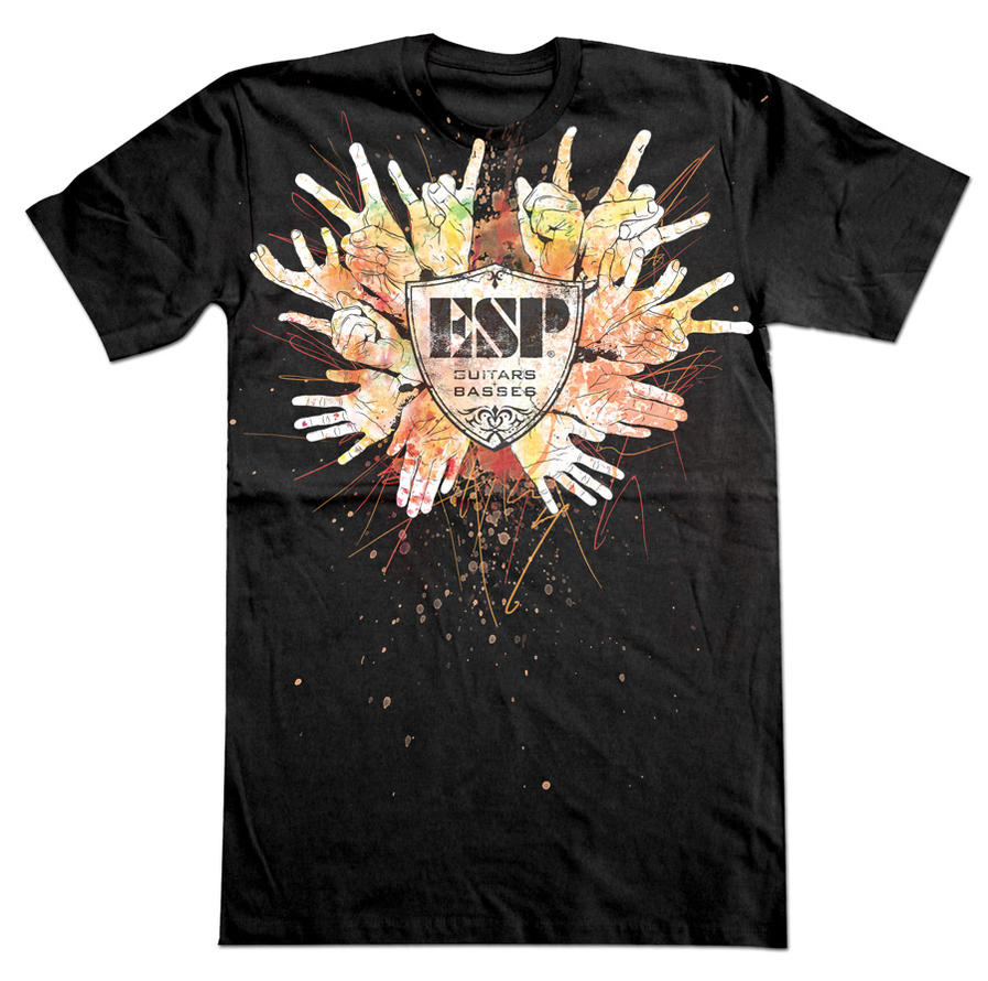 ESP Guitars Hand Shirt by gomedia