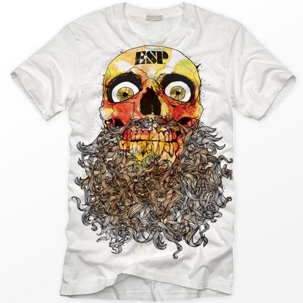 Bearded Skull by gomedia