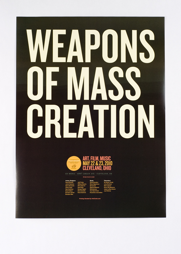 Weapons of Mass Creation Fest by gomedia