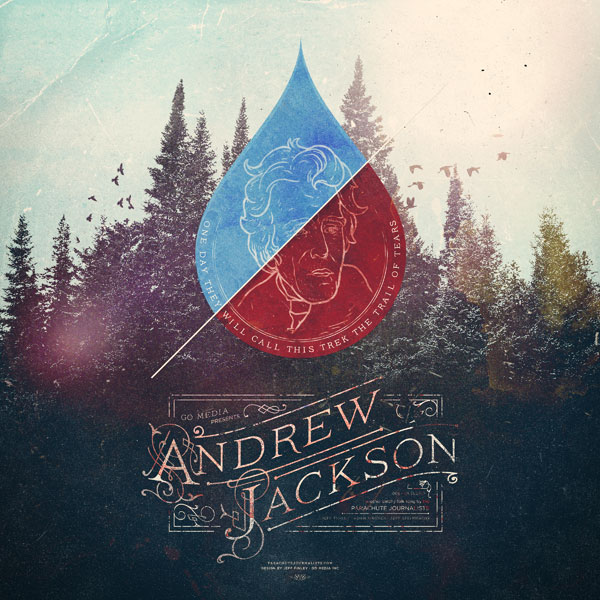 Andrew Jackson cover by gomedia