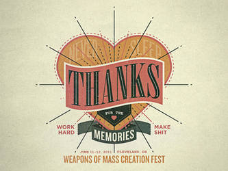 WMC Fest - Thanks
