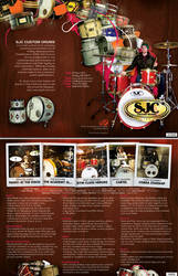 SJC Drums Brochure by gomedia