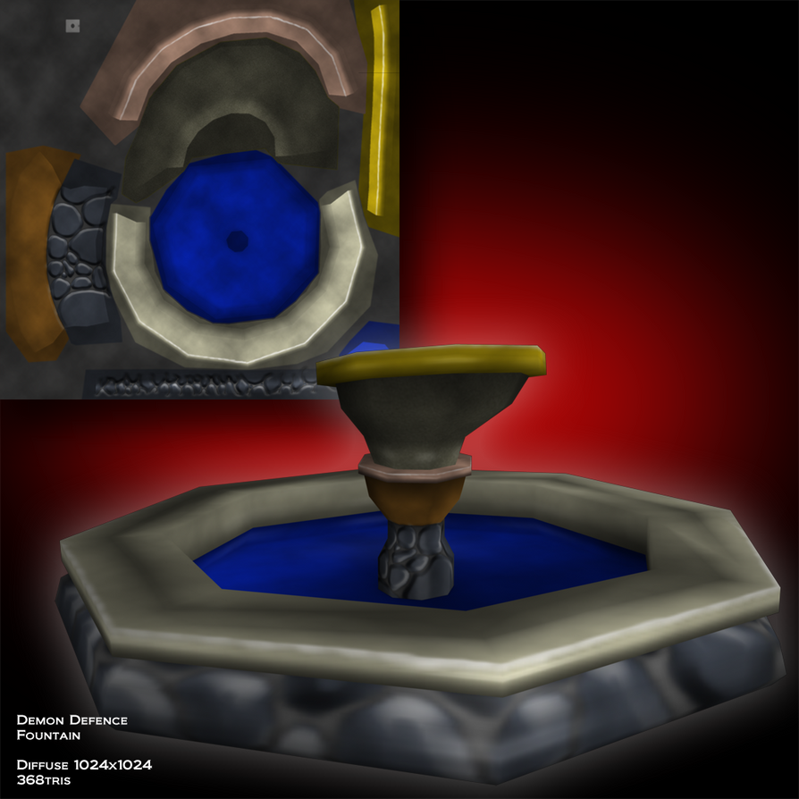 Demon Defence Fountain by MrRstar