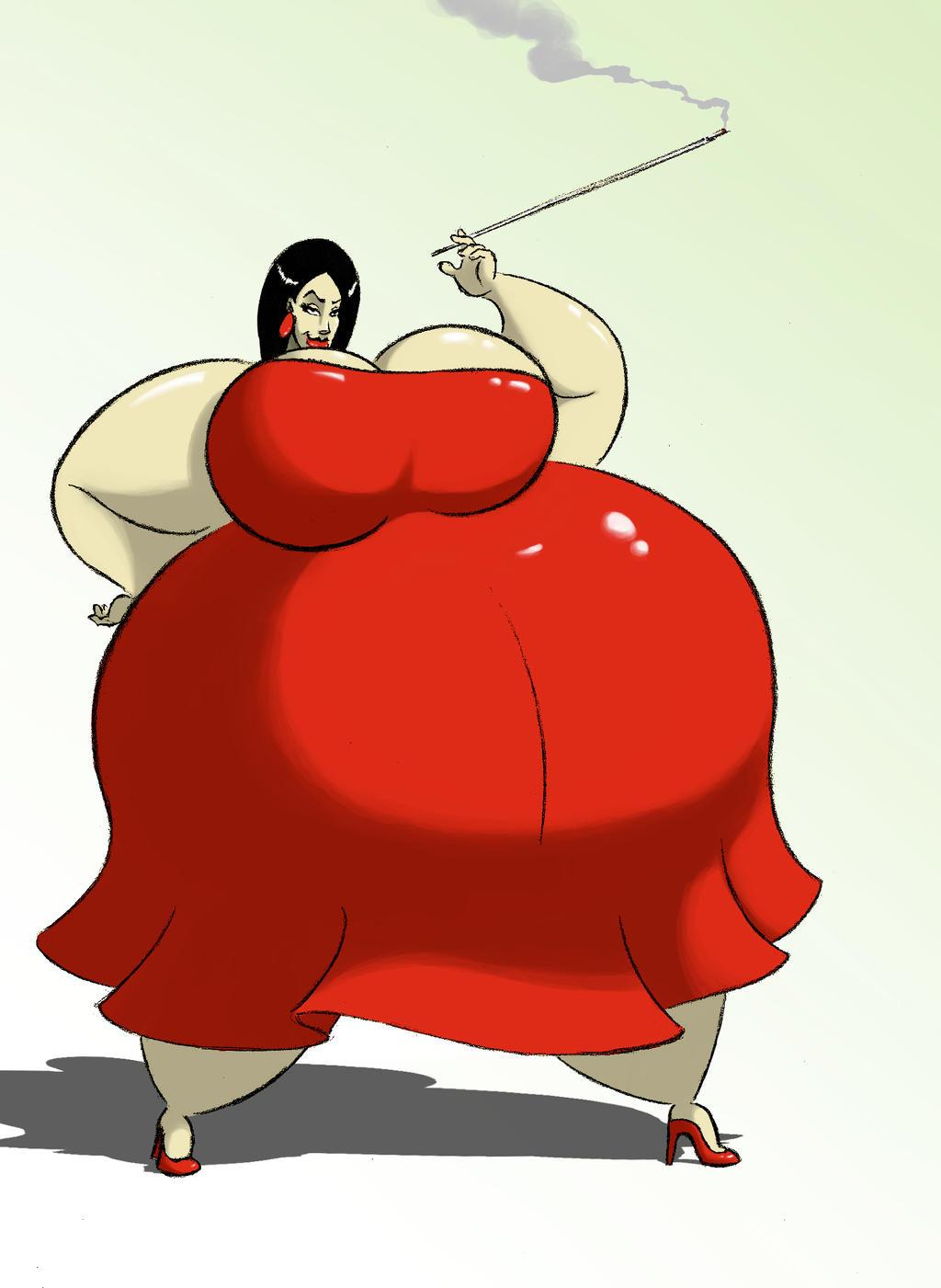 Miss Blimpetta by FatClubInc
