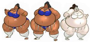 Sumo girls