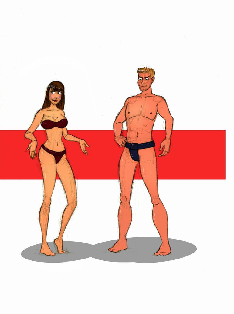 Skinny sumos by FatClubInc