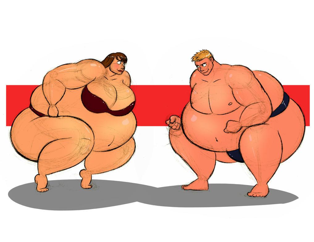 Not so skinny sumos by FatClubInc