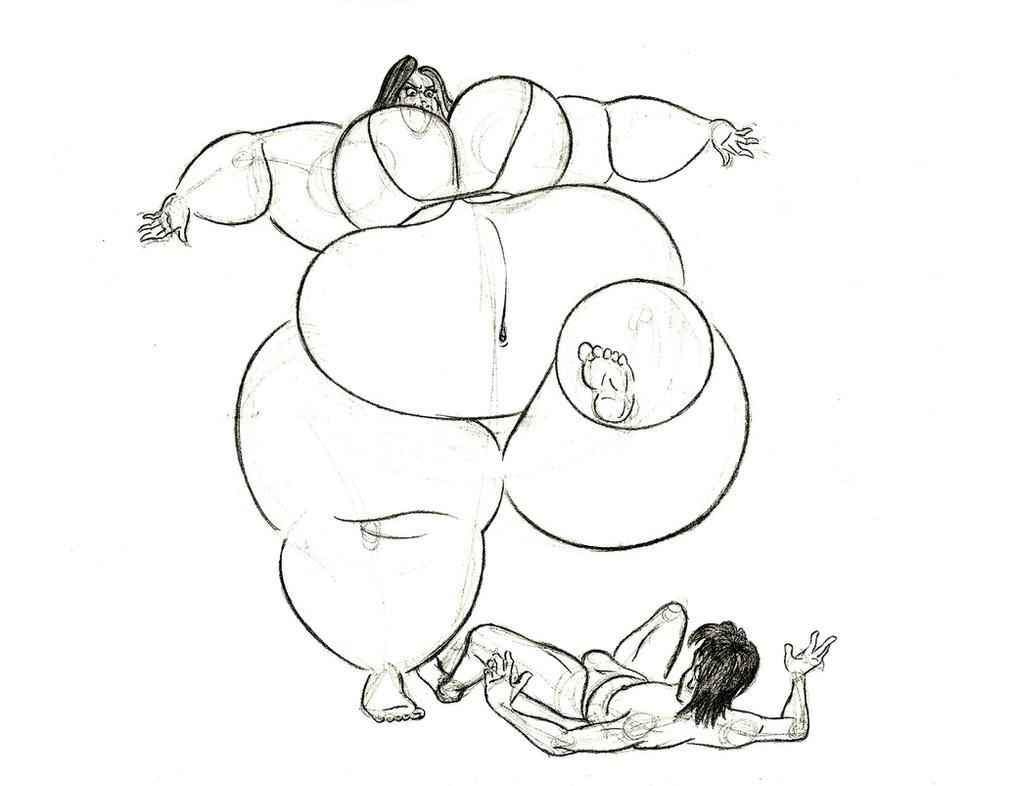 Ophelia stomps Milton by FatClubInc