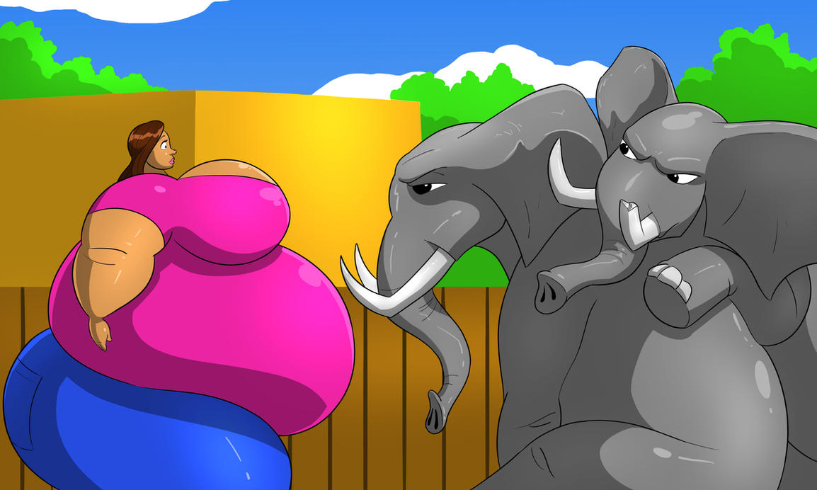 Talula vs the Elephants 2 by FatClubInc