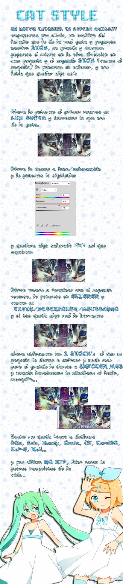 CAT STYLE-tutorial by HikariMinamino