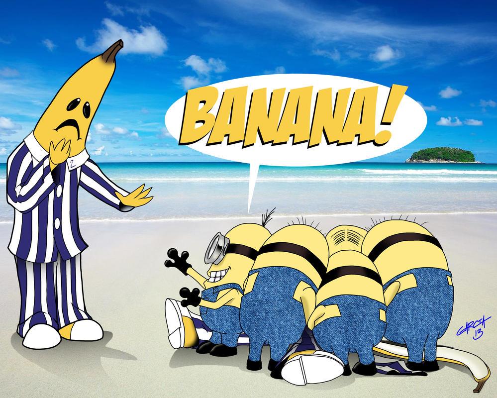 Minions BANANA 1 by doughboy2169