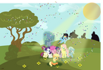 Filly Group Shot