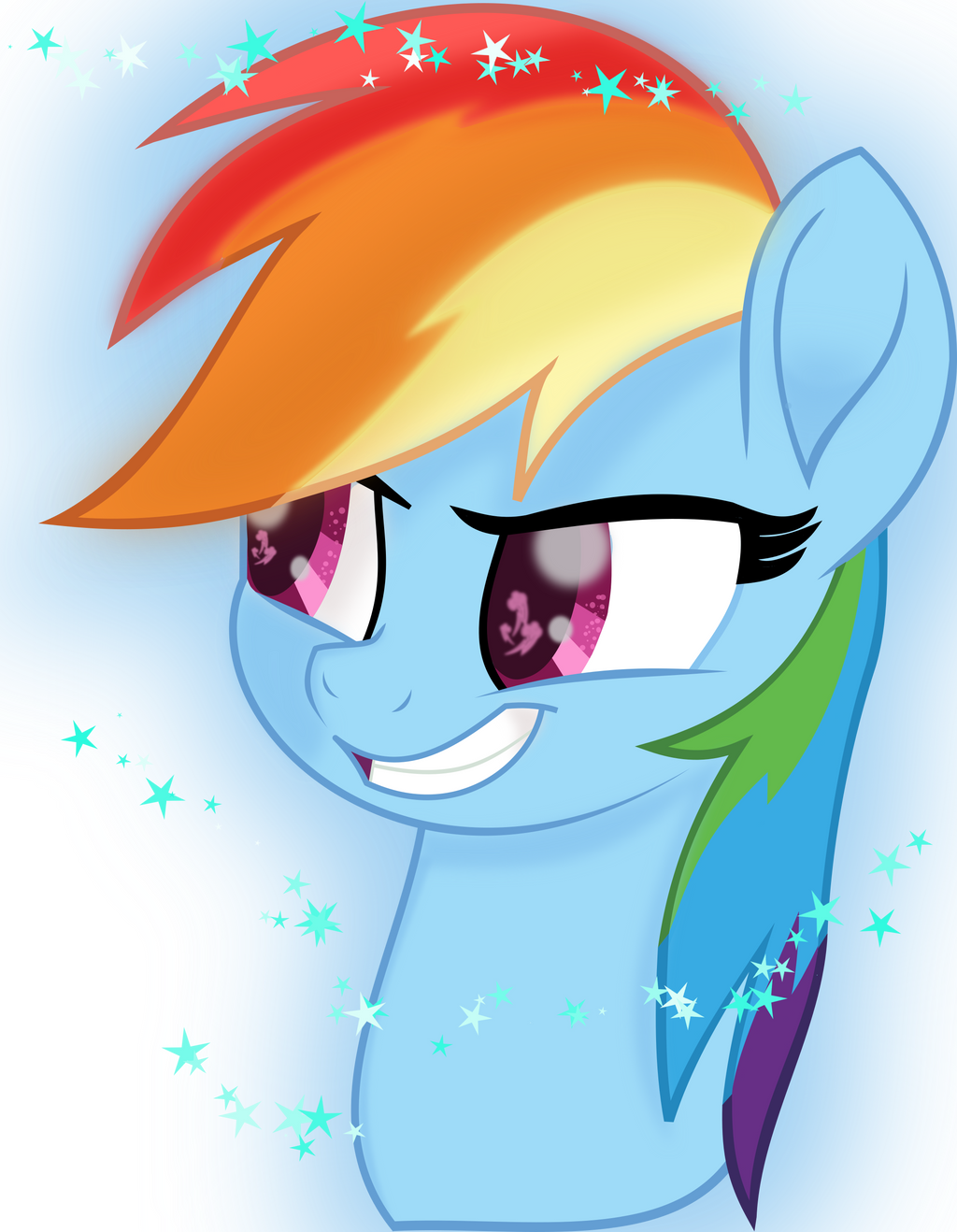 Rainbow Dash (MLP the Movie) by StarlyDoesArtYT