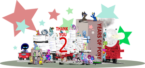 Equestria Daily Anniversary Project by StarlyDoesArtYT