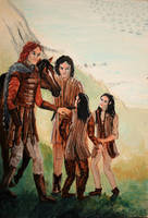 Arrival of the Host of the Valar by victoriaclare