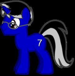 Digits-My OC pony by EverlastingJoy