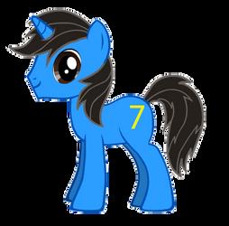 My Ponysona revised by EverlastingJoy