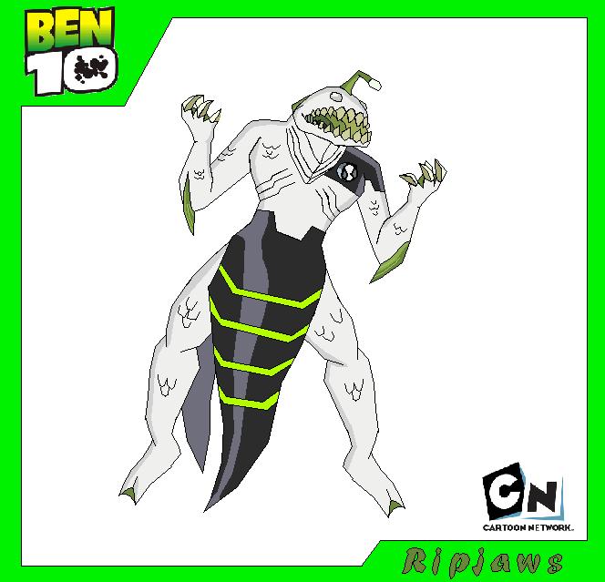 Ripjaws Ben 10 Ultimate Alien