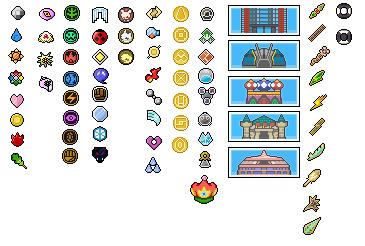 Pokemon World Badges, Symbols and trohpies by Bentenny10 on DeviantArt