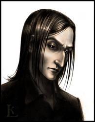 Severus Snape - portrait 2 by Glissar