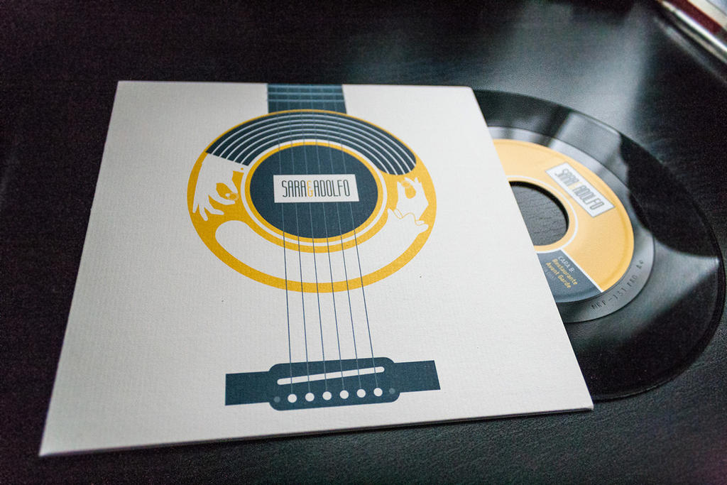 Vinyl record wedding invitations by chemabola8 on DeviantArt