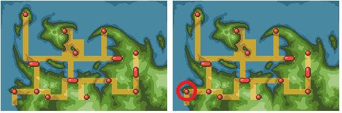 Pokemon Destiny Map