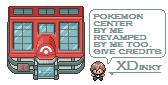 pokemon center revamped by XDinky