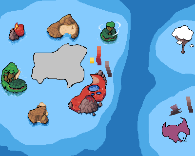 Island Map Unfinished by XDinky